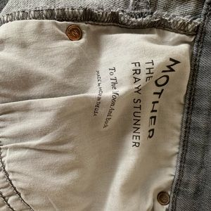 MOTHER Jeans - EUC Mother Frey Stunner size 29 gray